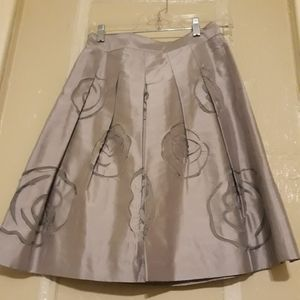Never worn Grey skirt. Cute for church...etc